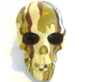 Skull Gear Shift Knob - Desert Camo