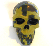 Skull Gear Shift Knob - Jungle Camo