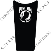89-07 Road & Electra Glide Dash Insert Decal - POW*MIA