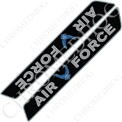 14-Up Saddlebag Latch Reflector Covers - USAF - Logo