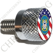 Twin Cam Air Cleaner Bolt - S KN Chrome Billet Coast Guard - F