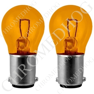 1156 Turn Signal Amber Bulbs - Set of 2