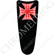 03-07 Ultra Classic CB Dash Insert Decal - Iron Cross - WFRB