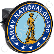 Tow Hitch Cover - Army National Guard