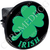Tow Hitch Cover - Clover - Irish - Black