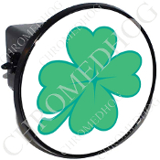 Tow Hitch Cover - Clover - White