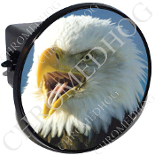 Tow Hitch Cover - Eagle - Screaming L