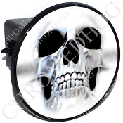 Tow Hitch Cover - Ghost Skull
