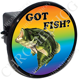 Tow Hitch Cover - Bass - Got Fish?