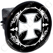 Tow Hitch Cover - Iron Cross - OWB