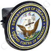 Tow Hitch Cover - USN Navy Dept