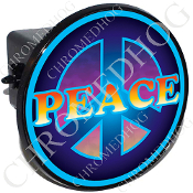 Tow Hitch Cover - Peace