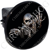 Tow Hitch Cover - Skeleton - Black