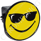 Tow Hitch Cover - Smiley Shades