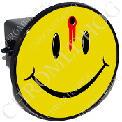 Tow Hitch Cover - Smiley Shot