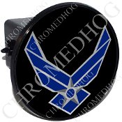 Tow Hitch Cover - USAF Logo - Black