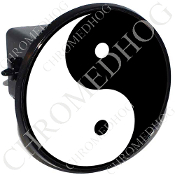 Tow Hitch Cover - Yin Yang - Black/ White