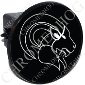 Tow Hitch Cover - Zodiac - Capricorn - W/B