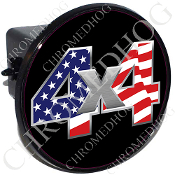 Tow Hitch Cover - 4x4 USA Flag
