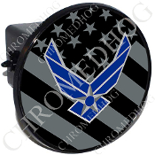 Tow Hitch Cover - USAF Logo - Ghost Flag