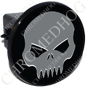 Tow Hitch Cover - Evil Skull - Gray/Black