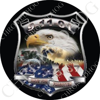 Premium Round Decal - Eagle - 9-11-01