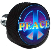 Harley Twin Cam Air Cleaner Bolt - Black Billet Peace