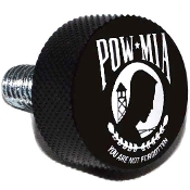 Harley Twin Cam Air Cleaner Bolt - Black Billet POW*MIA