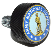 Harley Twin Cam Air Cleaner Bolt - Black Billet US National Grd