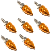 Motorcycle Windshield Bolts - Pike Spike - Gold - 7