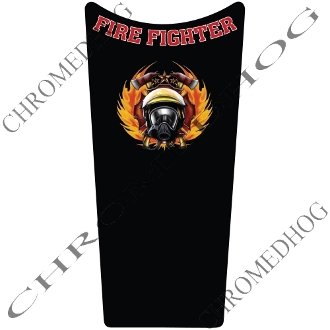 89-07 Road & Electra Glide Dash Insert Decal - FireFighter
