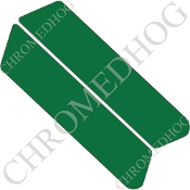 96-07 Police Saddlebag Decals - Solid - Green