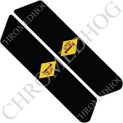 96-07 Police Saddlebag Decals - 1%er - YDBR