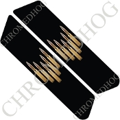 96-07 Police Saddlebag Decals - Bullets - 5D