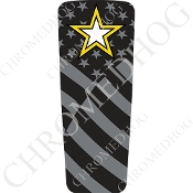 08-15 Ultra & Electra Glide Dash Insert - Army Star Ghost Flag