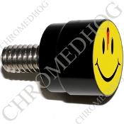 Twin Cam Air Cleaner Bolt - S SM Black Billet - Smile Shot