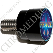 Twin Cam Air Cleaner Bolt - S SM Black Billet Peace