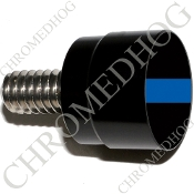Twin Cam Air Cleaner Bolt - S SM Black Billet Blue Line