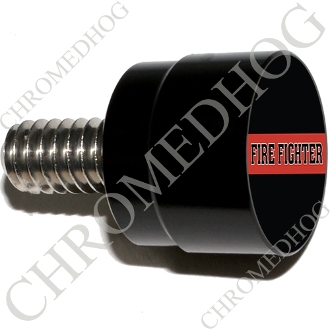 Twin Cam Air Cleaner Bolt - S SM Black Billet Red Line - FF