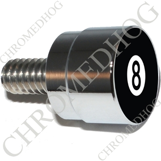 Twin Cam Air Cleaner Bolt - S SM Chrome Billet 8 Ball