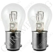 1157 Turn Signal Clear Bulbs - Set of 2