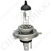 H4 Halogen 65/55W 12V Bulb - Clear - Single