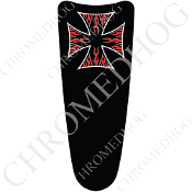 03-07 Ultra Classic CB Dash Insert Decal - Iron Cross RFBB