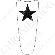 03-07 Ultra Classic CB Dash Insert Decal - Star Gray/White