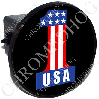 Tow Hitch Cover - #1 USA Black