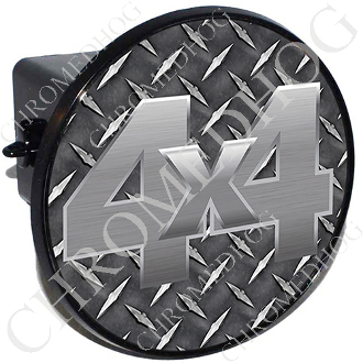 Tow Hitch Cover - 4x4 Diamond Plate