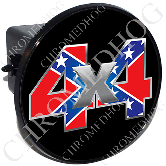 Tow Hitch Cover - 4x4 Rebel Flag