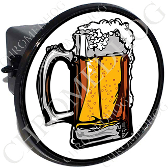 Tow Hitch Cover - Beer Mug