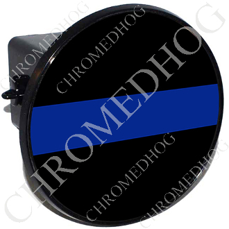 Tow Hitch Cover - Blue Line