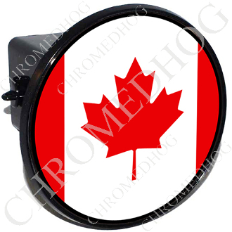 Tow Hitch Cover - Flag - Canada